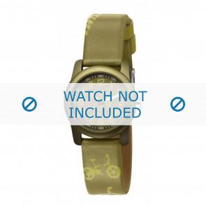 Esprit cinturino dell'orologio ES000FA4-40GR / 000FA4044 Pelle Verde