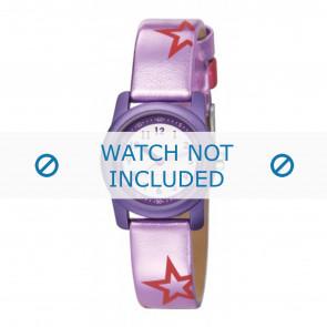 Esprit cinturino dell'orologio ES000FA4-40PA / 000FA4038 / 000FA4 Pelle Viola