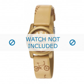 Esprit cinturino dell'orologio ES000FA4-40TAU / 000FA4045 Pelle Taupe