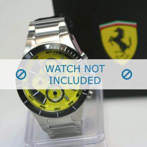 Ferrari cinturino dell'orologio SF.25.1.34.0196 Metallo Argento