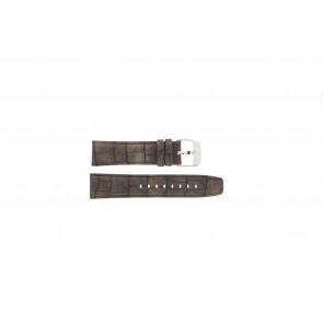 Festina cinturino orologio F16573/4 Pelle Marrone 23mm + cuciture marrone
