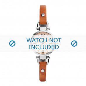 Fossil cinturino dell'orologio ES4025 Pelle Cognac 8mm