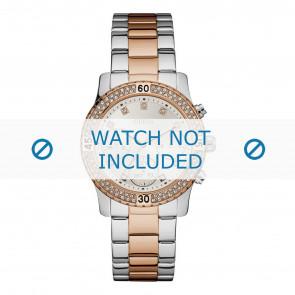 Guess cinturino dell'orologio W0851L3 Metallo Multicolore 20mm