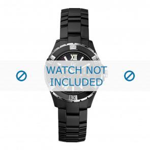 Guess cinturino dell'orologio X69002L2S / X69004L2S Ceramica Nero