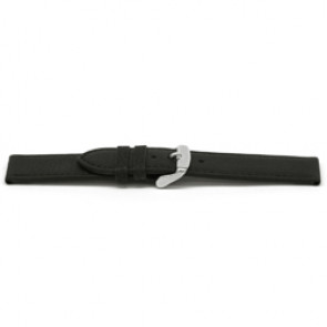Cinturino orologio in pelle, nero, 16mm EX-E129