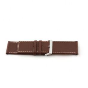 Cinturino orologio in vera pelle, marrone, 34mm EX-J43