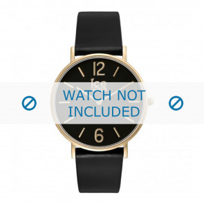 Ice Watch cinturino dell'orologio CT.BGD.36.L.16 Pelle Nero 18mm