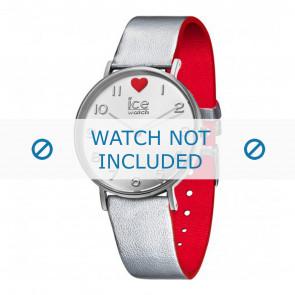 Ice Watch cinturino dell'orologio 013375 Pelle Argento 18mm