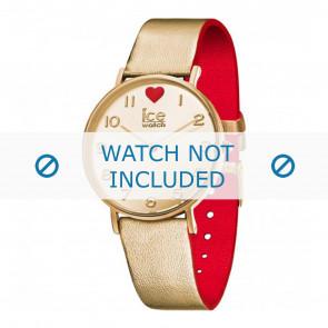 Ice Watch cinturino dell'orologio 013376 Pelle Oro 18mm