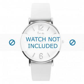 Ice Watch cinturino dell'orologio CT.WSR.36.L.16 Pelle Bianco 18mm