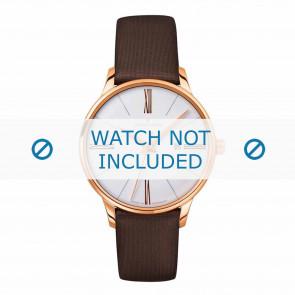 Junghans cinturino dell'orologio 047/7571.00 Pelle Marrone 14mm