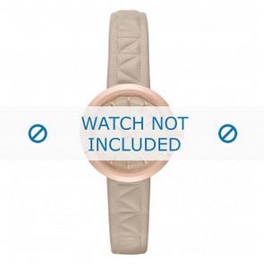Karl Lagerfeld cinturino dell'orologio KL1612 Pelle Beige