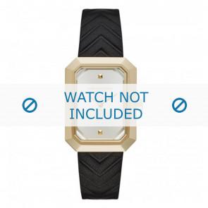 Karl Lagerfeld cinturino dell'orologio KL6102 Pelle Nero