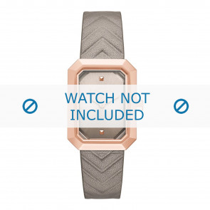 Karl Lagerfeld cinturino dell'orologio KL6103 Pelle Beige