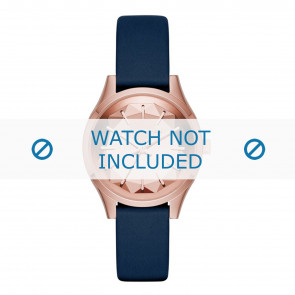 Karl Lagerfeld cinturino dell'orologio KL1632 Pelle Blu