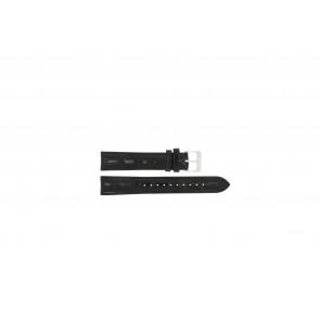 Lorus cinturino orologio RR033X Pelle Nero 18mm