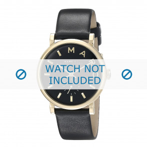 Marc by Marc Jacobs cinturino dell'orologio MBM1269 Pelle Nero 19mm