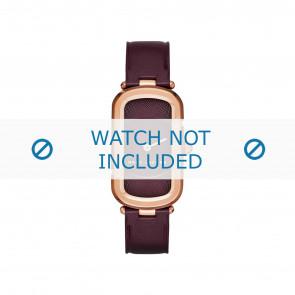 Marc by Marc Jacobs cinturino dell'orologio MJ1483 Pelle Bordò 14mm + cuciture di default