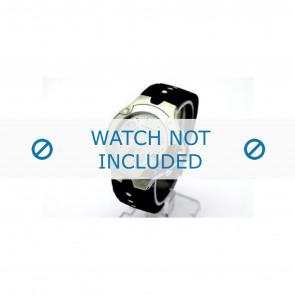 Movado cinturino dell'orologio 84c51892.0 Gomma Nero