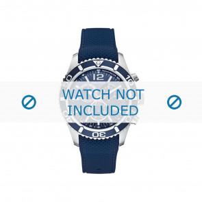 Nautica cinturino dell'orologio A15103G Gomma Blu 22mm
