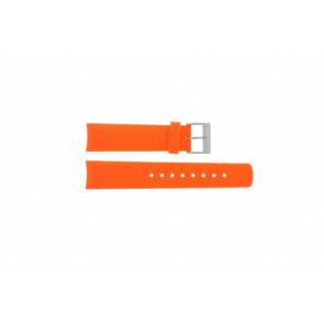 Nautica cinturino dell'orologio A31505G / N14538G / N19523 / N14612G / A13010G Gomma / plastica Arancione 22mm