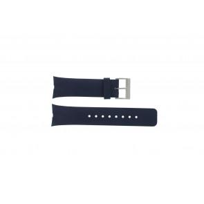 Nautica cinturino orologio A23002G Gomma Blu 28mm