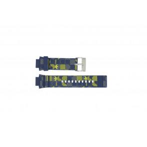 Adidas cinturino orologio ADH6106 Gomma Blu 16mm
