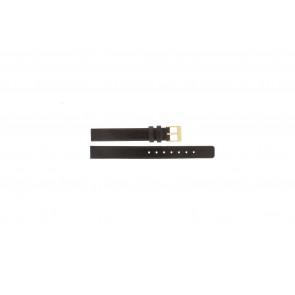 Skagen cinturino dell'orologio 358XSGLD Pelle Marrone 12mm