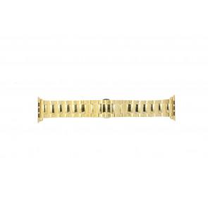 Apple (replacement model) cinturino orologio LS.AB.106 Acciaio Oro (Placcato) 42mm