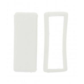 Passante di Cinturino orologio in gomma, bianco 16mm