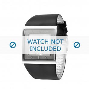 Police cinturino dell'orologio PL-11916MS-04 Pelle Nero
