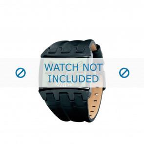 Police cinturino dell'orologio PL-12079JSB-05A Pelle Nero 36mm + cuciture marrone