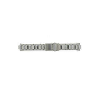 Pulsar cinturino dell'orologio PUL103P1 / 5M42 0L30 / 71J6ZG Metallo Argento 10mm