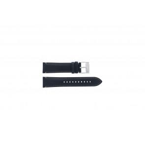 Fossil (Smartwatches) cinturino orologio S221255 Pelle Blu scuro 22mm