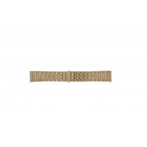 Fossil cinturino dell'orologio S222112 Metallo Salito 22mm