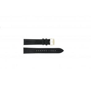 Seiko cinturino orologio 7N32-0DE0 Pelle Nero 18mm