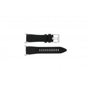 Seiko cinturino orologio 7T62-0HH0 Pelle Nero 33mm