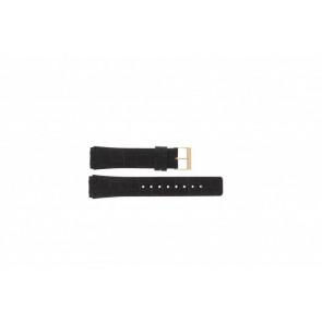 Skagen cinturino dell'orologio 331XLRLD / 331XLRLDO Pelle Marrone 19mm + cuciture marrone