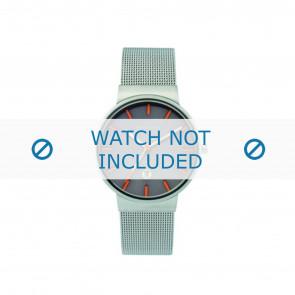 Skagen cinturino dell'orologio 351LSSMO Metallo Argento