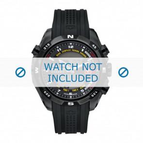 Swiss Military Hanowa cinturino dell'orologio 06-4174.13.007 Gomma / plastica Nero 22mm