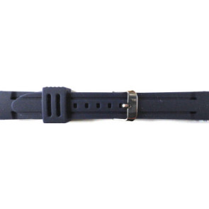 Cinturino orologio Gomma 26mm Blu PVK DS253