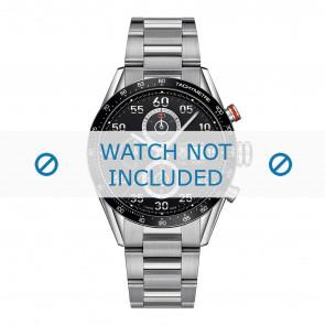 Tag Heuer cinturino dell'orologio BA0799 Metallo Argento