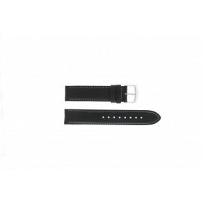 Timex cinturino orologio T2N156 Pelle Nero 20mm