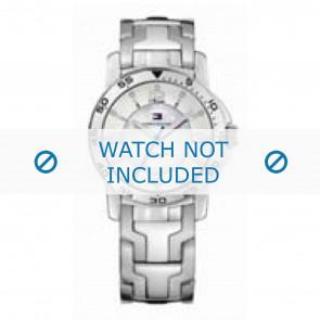 Tommy Hilfiger cinturino dell'orologio TH-44-3-14-0830 - TH679000897 / 1780899 Metallo Argento 17mm