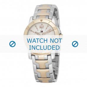 Tommy Hilfiger cinturino dell'orologio TH-44-3-20-0699 - TH679000898 / 1780742 Metallo Bi-colore 17mm