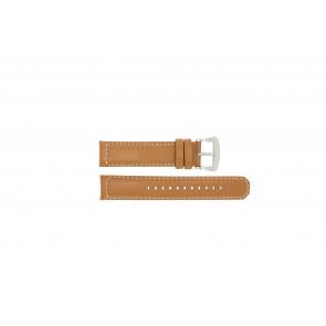 Seiko cinturino orologio V172-0AG0 Pelle Cognac 21mm