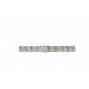 Pulsar cinturino orologio VX43-X043 Acciaio Argento 20mm