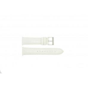 Guess cinturino orologio W85053G2 / W10558L1 Pelle Bianco 22mm