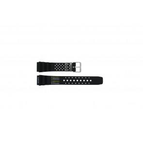 Cinturino dell'orologio  / Citizen Gomma Nero 20mm