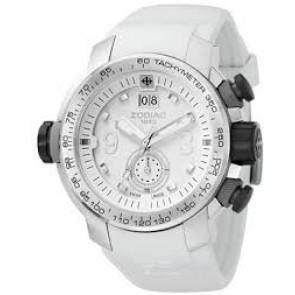 Zodiac cinturino dell'orologio ZO8511 Gomma Bianco